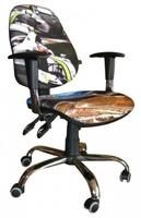 Стілець крісло для дітей і підлітків AMF крісло Брідж Дизайн Перегони-2