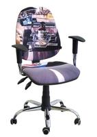 Стілець крісло для дітей і підлітків AMF крісло Брідж Дизайн Перегони-1