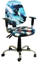 Стілець крісло для детей і підлітків AMF крісло Брідж Дизайн Дельфіни
