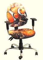 Стілець крісло для дітей і підлітків AMF крісло Брідж Дизайн Рибка