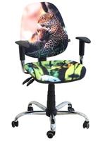 Стілець крісло для дітей і підлітків AMF крісло Брідж Дизайн Гепард