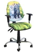 Стілець крісло для дітей і підлітків AMF крісло Брідж Дизайн Кошеня