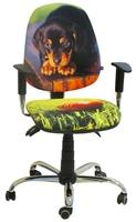 Стілець крісло для дітей і підлітків AMF крісло Брідж Дизайн Цуценя