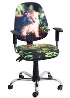 Стілець крісло для дітей і підлітків AMF крісло Брідж Дизайн Рись